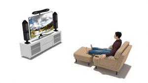 Der optimale Sitzabstand zum 50-Zoll-Fernseher